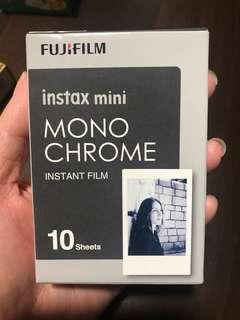 Monochrome Fujifilm polaroid films