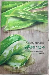 Real Nature Mask Sheet Aloe
