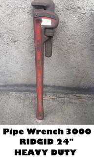 "Pipe Wrench RIDGID 24"" (HEAVY DUTY)"