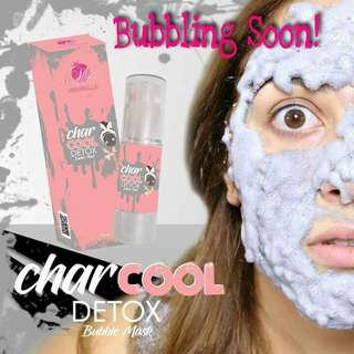 Char Cool Bubble Mask