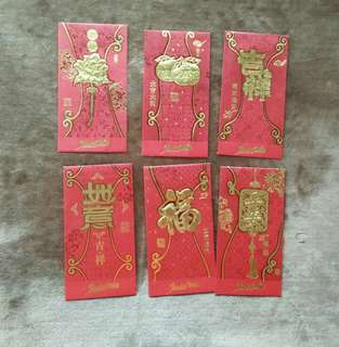 Prosperity ang pau 3+3 packets