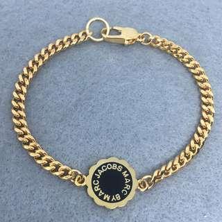 Marc Jacobs Sample Bracelets 黑色配金色花花手鍊