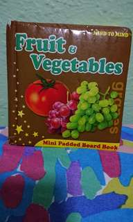 Preloved Fruit and Vegetables Mini board book