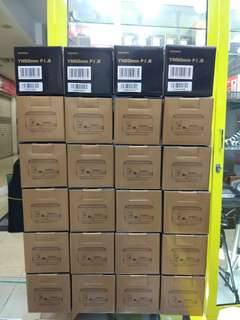 Lensa Fix YN 50mm f/1.8 untuk semua DSLR Canon