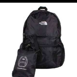 Northface foldable backpack