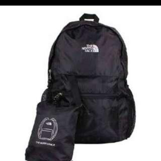 Northface foldable backpack