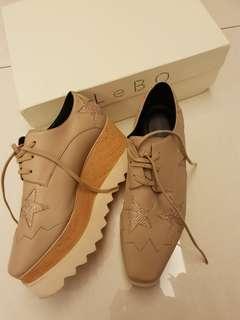 🚚 stella星星厚底鞋鬆糕鞋