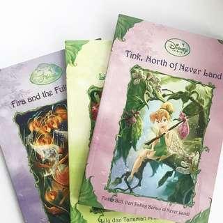 The Disney Fairies Series. Complete dari Vidia and The Fairy Crown sampai Rosetta's Daring Day.