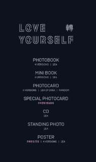 🇲🇾 [GROUP ORDER] BTS 3RD ALBUM: LOVE YOURSELF 轉 TEAR