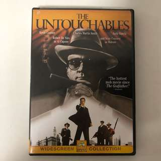 1987 The Untouchables DVD