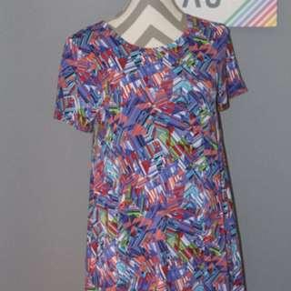 BNWT Lularoe LLR Colourful Carly In Size Xs