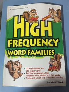 EPH High Frequency Words Families