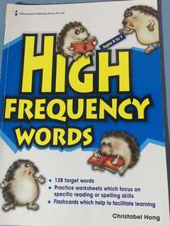 EPH High Frequency Words