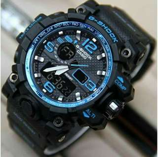 G-shock dual time