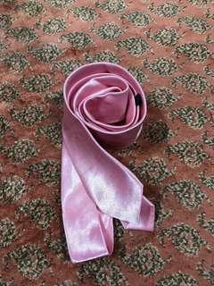Boy pink necktie
