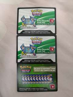 Pokemon TCGO codes
