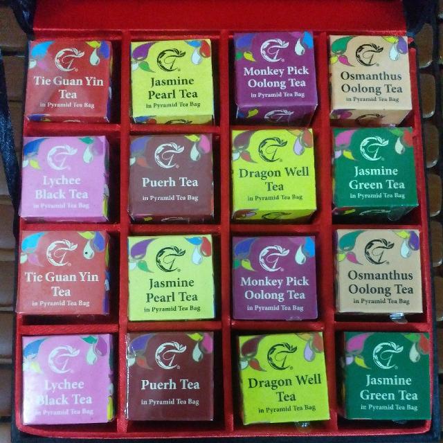 華芳茶莊中式雜錦茶葉錦盒套裝