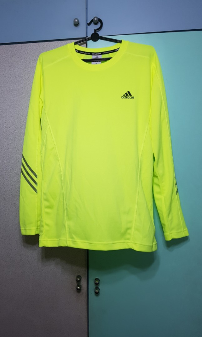 8a77d555 Adidas Long Sleeve Sport Tee, Men's Fashion, Clothes, Tops on Carousell