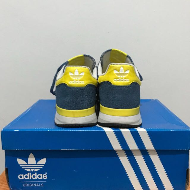 official photos 90cf4 a49ae Adidas ZX 500 blue yellow, Men's Fashion, Men's Footwear on ...