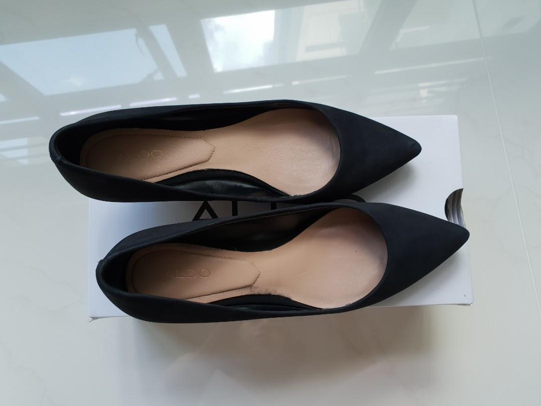 Aldo Sierra Black Heels