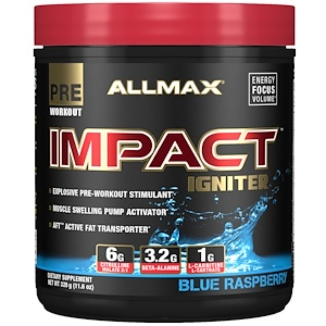 Allmax Nutrition Impact Igniter Pre Workout Citrulline Malate The Curse Cobralabs Pwo Preworkout Power Photo