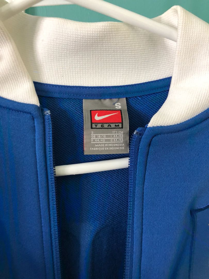 Blue Nike Bomber Jacket
