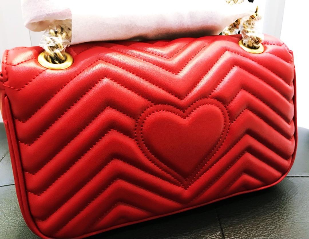 537f91fa609 BN Gucci GG Marmont Shoulder Bag