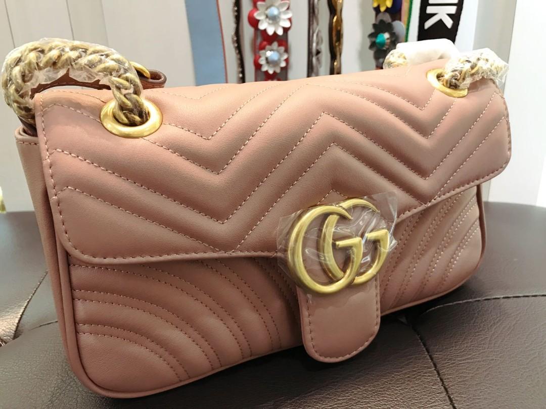 4d3c59edcba249 BN Gucci GG Marmont Shoulder Bag, Luxury, Bags & Wallets, Handbags ...