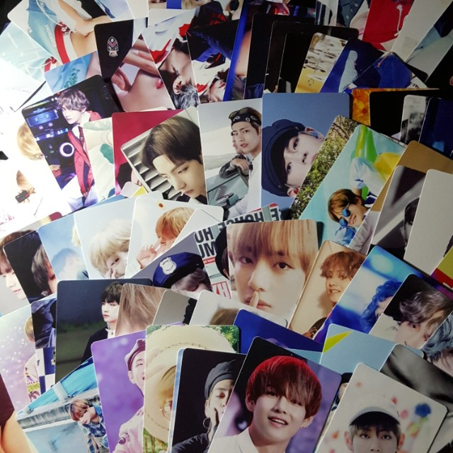 BTS V 100PCS PHOTOCARD