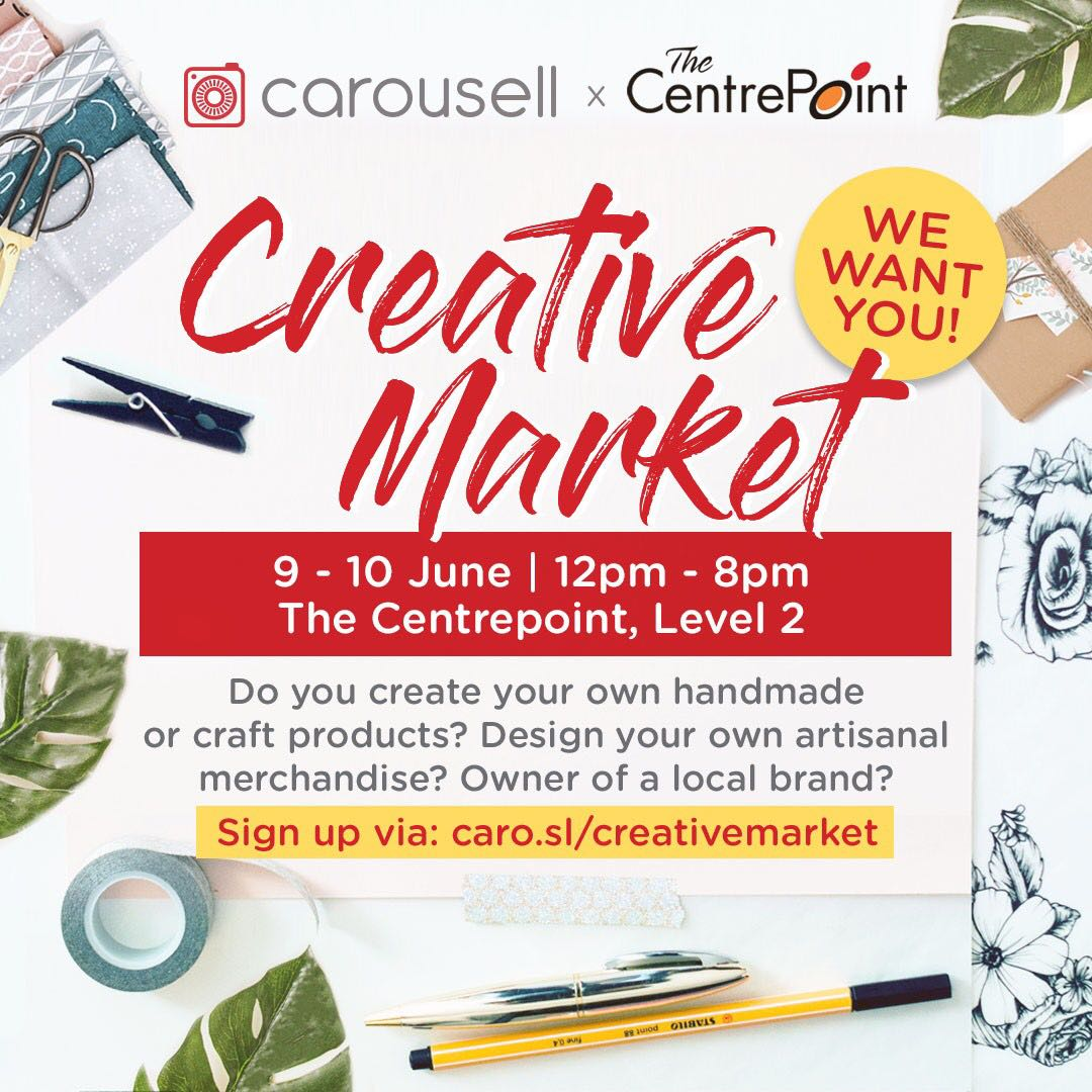 Carousell Creative Market @ The Centrepoint