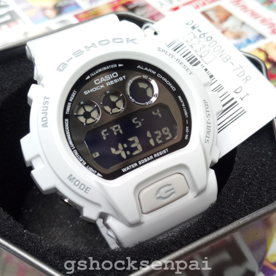 Casio Gshock Original Dw 6900nb 7 Mens Fashion Watches On Carousell G Shock 7dr