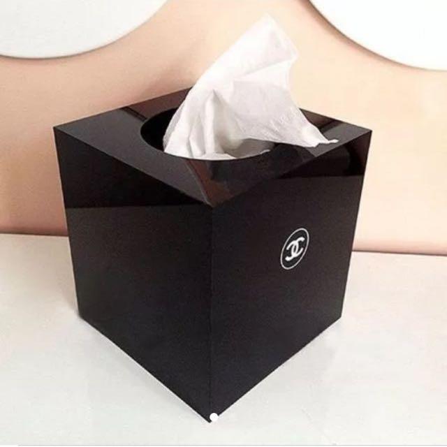 Chanel Tissue Box