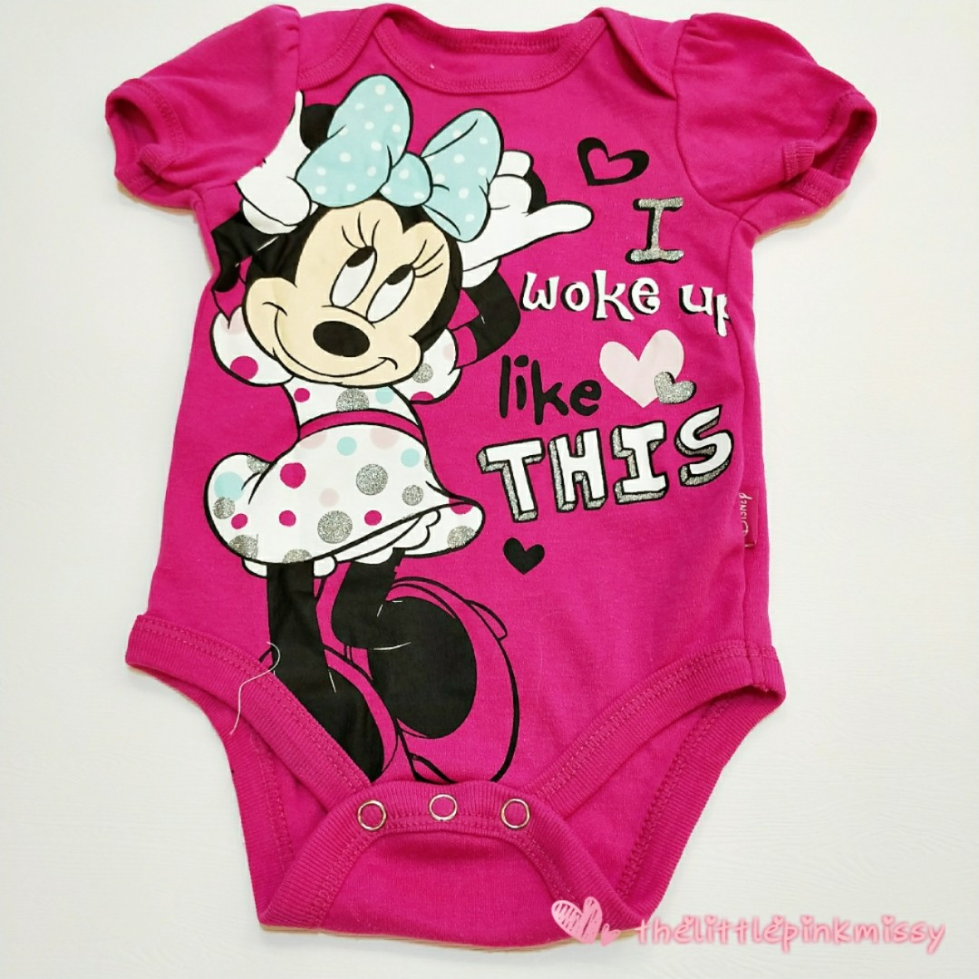27c150ddad12 Disney Minnie Mouse Baby Romper