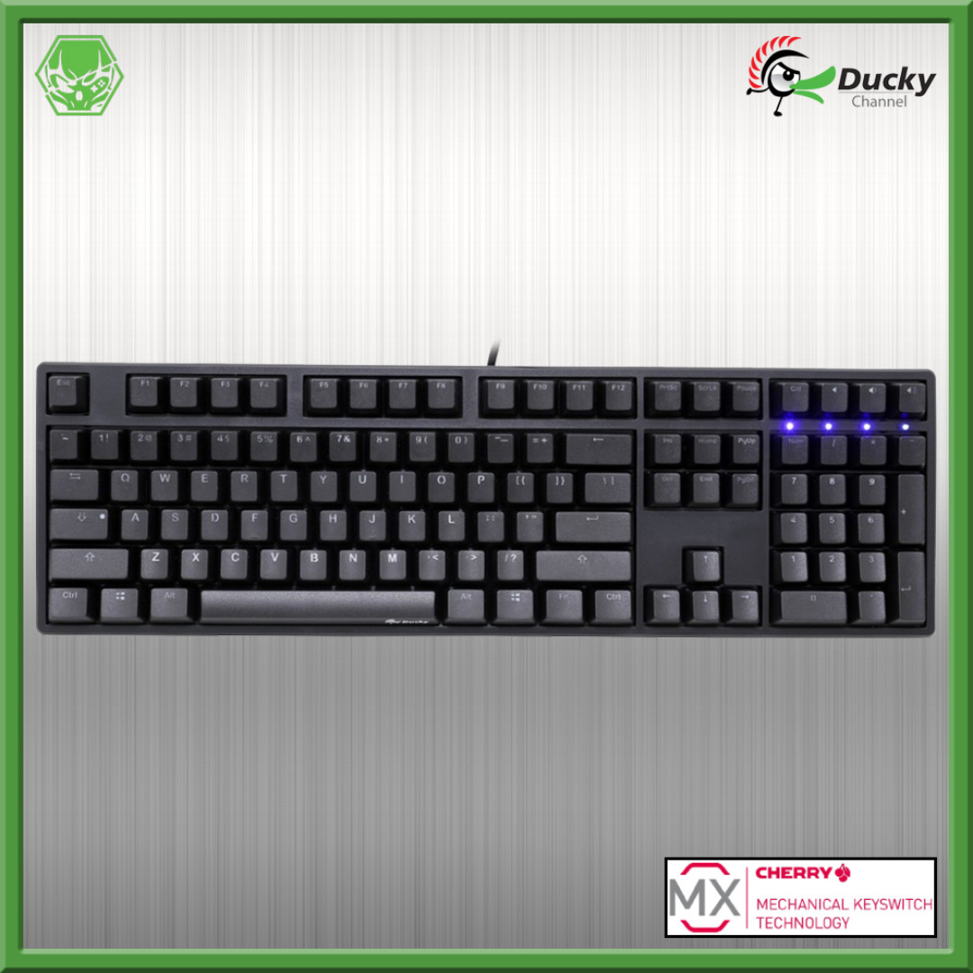 Ducky One Non-Backlit Cherry MX Mechanical Keyboard, Electronics, Computer Parts & Accessories