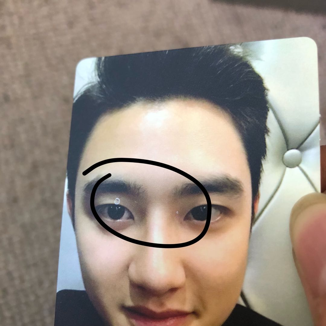 EXO 5th Anniversary SUM Limited Photocards
