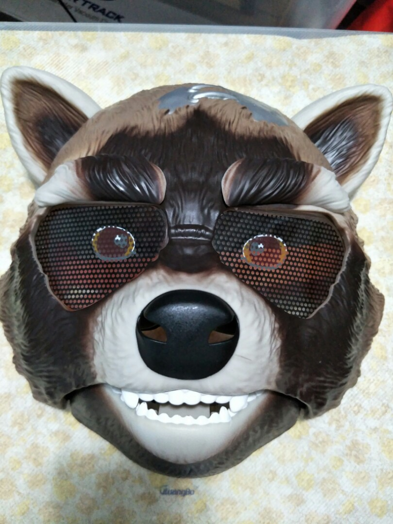 Guardians of the Galaxy Avengers Raccoon Mask
