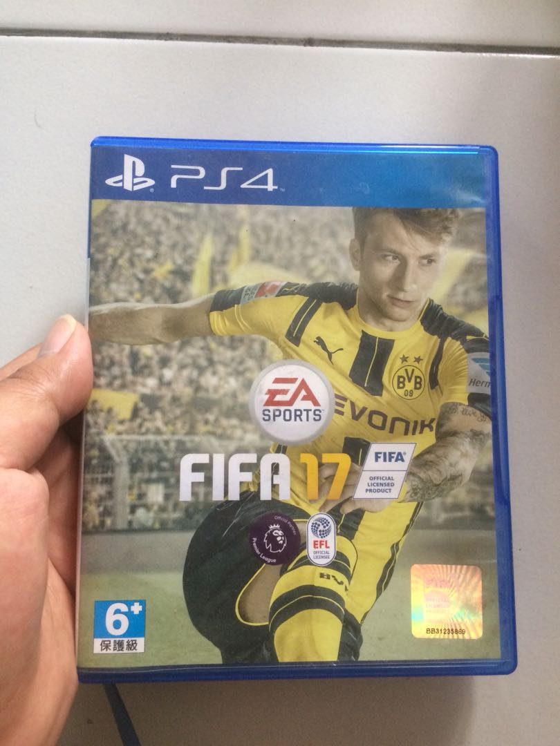 Kaset Ps4 Fifa17 Video Gaming Accessories On Carousell Steam Wallet Idr 450000