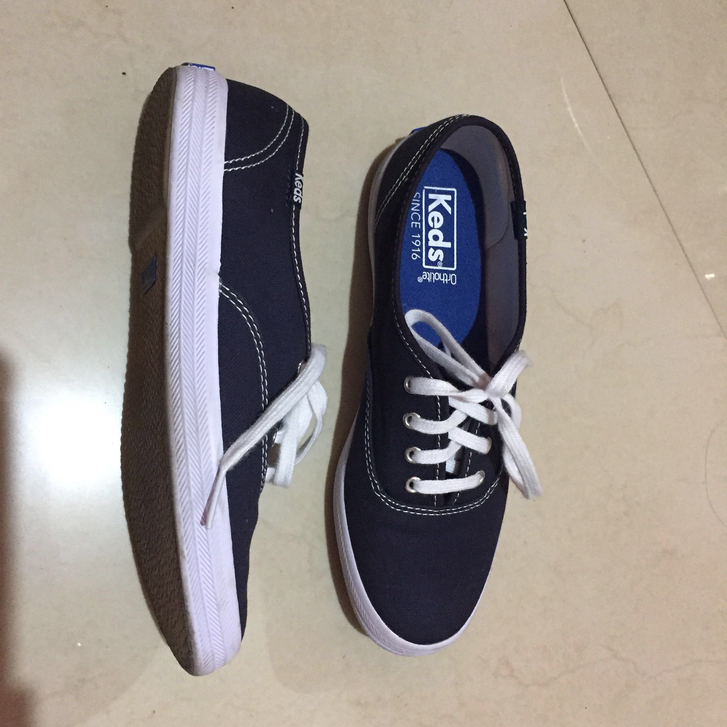 125a26014daa Keds Champion Canvas in Navy Blue
