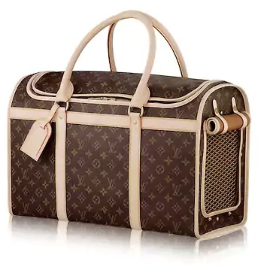 Louis Vuitton LV Dog or Cat Carrier Bag 50 Monogram FREE POSTAGE   FREE BAG  NAME TAG For ANY Small Animal Pet Pets Friendly Bag M42021 cd8e7396f964b
