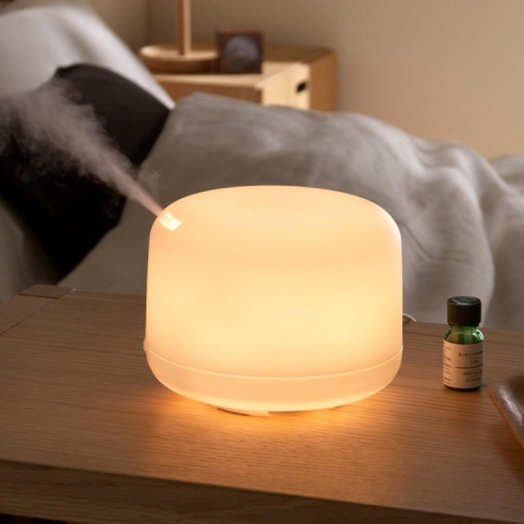 Muji Inspired 500ml Ultrasonic Humidifier Aroma Diffuser