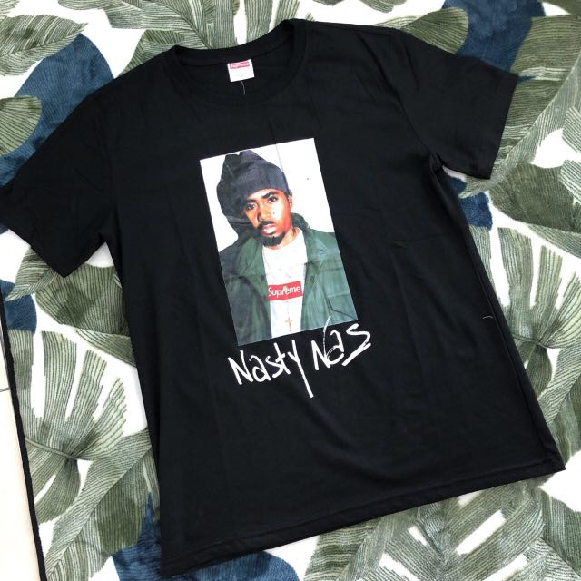14d50b7d Nasty Nas Supreme T-shirt, Men's Fashion, Clothes on Carousell