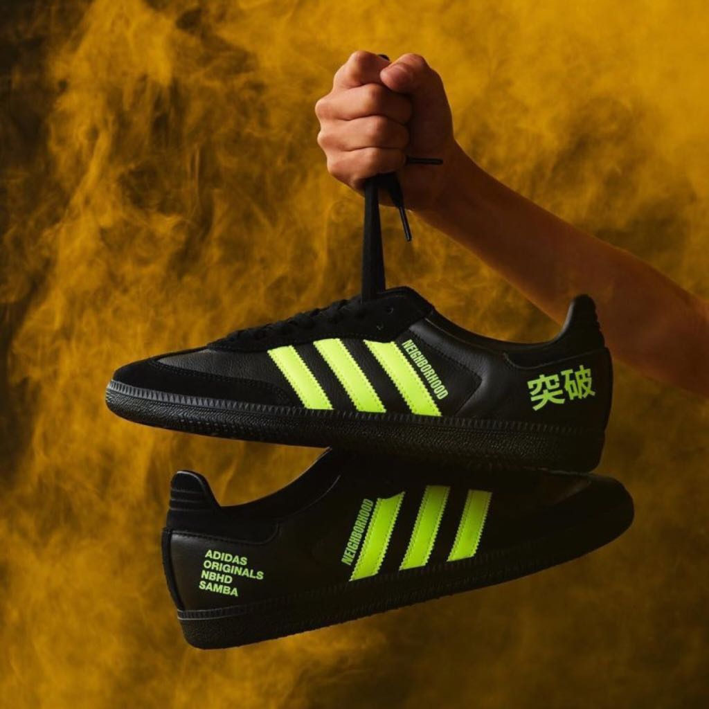 81bd1b709 NBHD X ADIDAS 勝色 COLLECTION SAMBA, Men's Fashion, Footwear ...