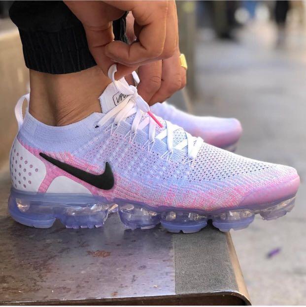 """1a8e9c42698d Nike Air Vapormax Flyknit 2 """"Hydrogen blue pink """""""