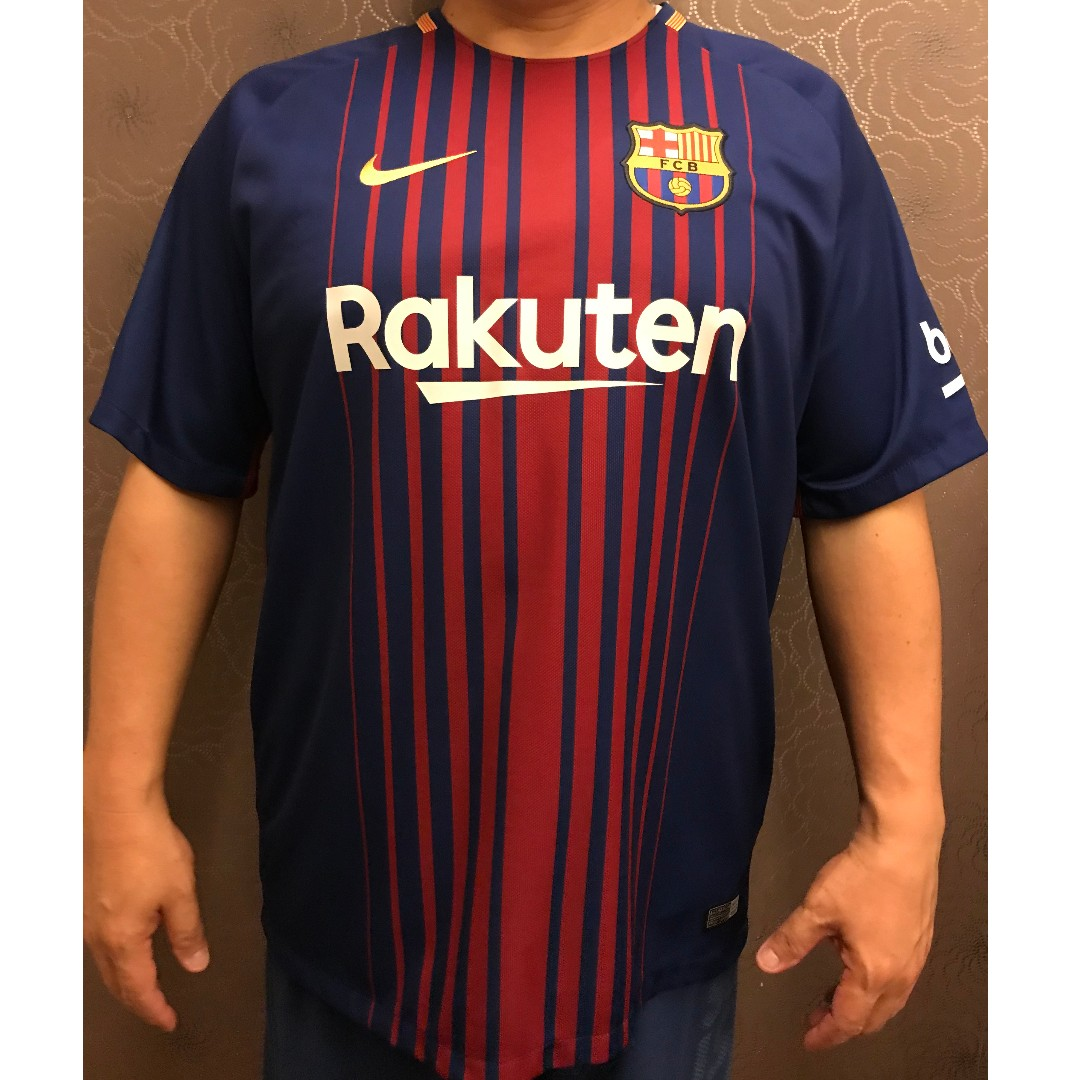 best service 3e890 7121a NIKE Barcelona Home Messi Jersey 2017/2018 (Official ...