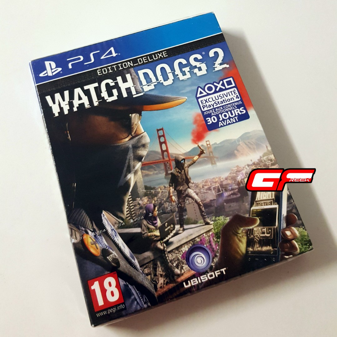 Ps4 Watch Dogs 2 Deluxe Edition Video Gaming Games On Carousell Sony Game Photo