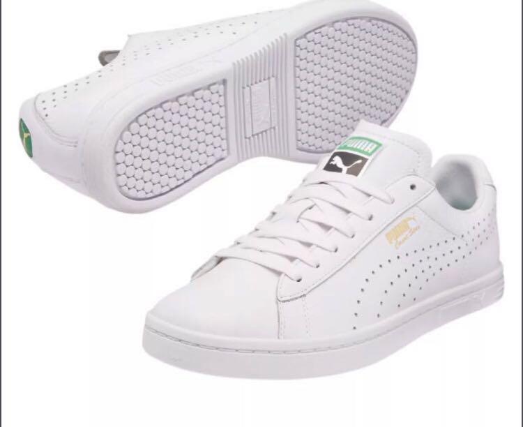revendeur b3dbd 8c7d4 Puma Court Star all white sneakers