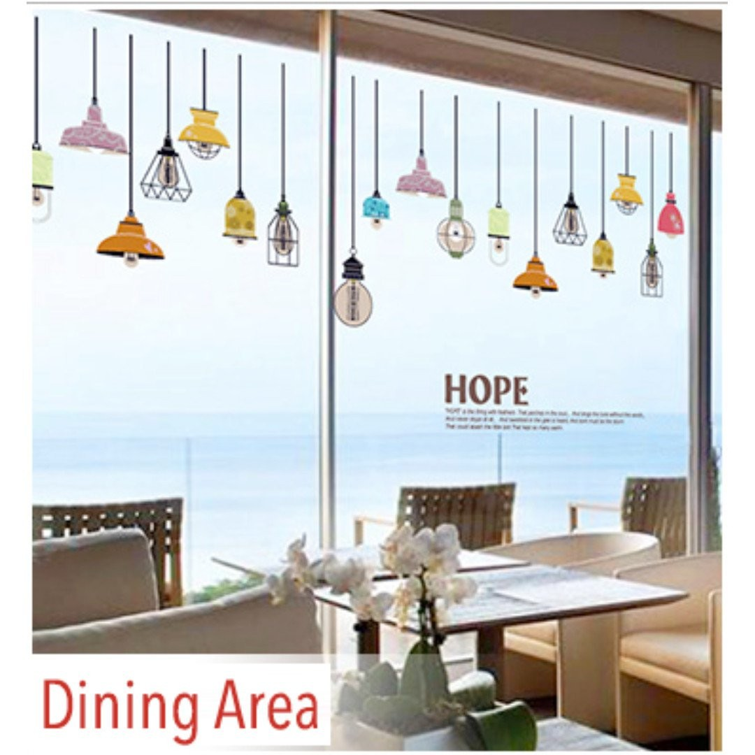 Removable Wall Decal / Wall Stickers For Decoration. DIY Wall Stickers For Decorating Your Living Room, Bedroom or Dining Area.