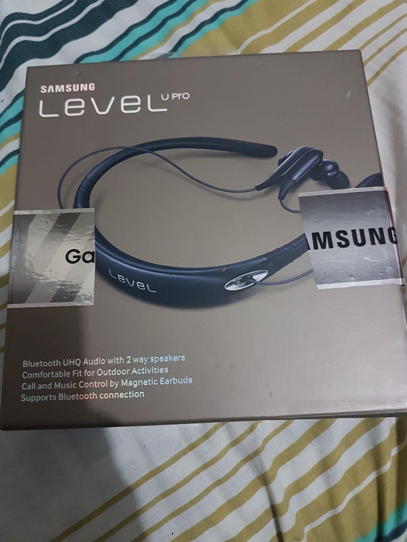 Samsung Level U Pro Bluetooth Headset Music Media Music Accessories On Carousell