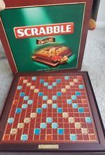 Scrabble Deluxe Wooden Edition Toys Games Board Games Cards On
