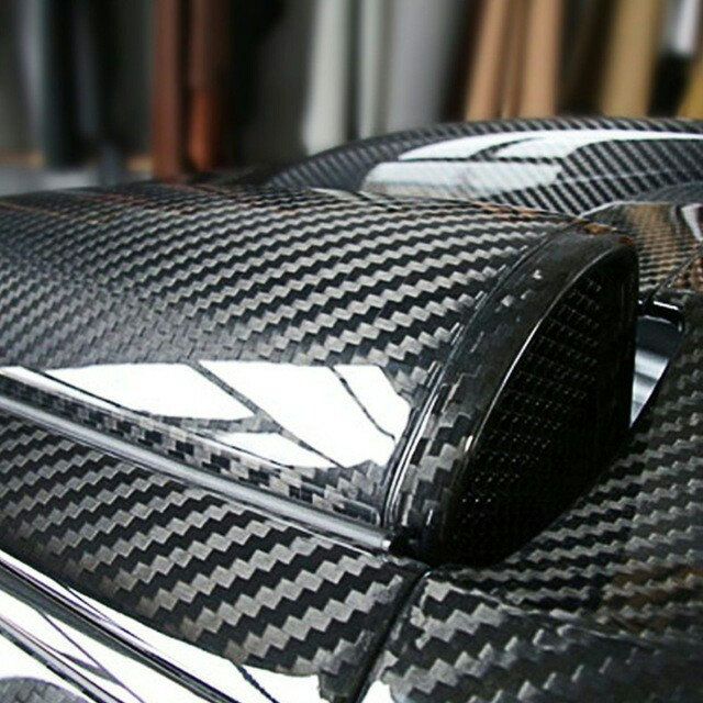 Sticker carbon 5D
